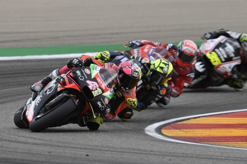 Aleix Espargaro dämpft nach Platz sieben in Aragon die Erwartungen