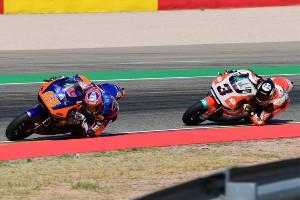 Rookie-Duell in Aragon: Tulovic fängt Öttl kurz vor Rennende ab