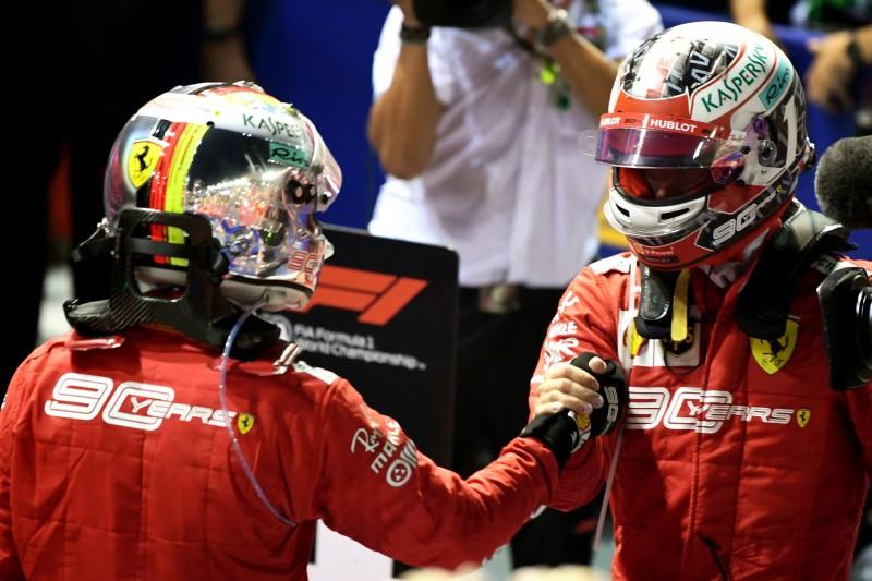 Ross Brawn: Vettels Singapur-Sieg ist auch gut für Leclerc