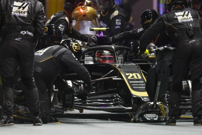 Hybrid-Spezifikation in Sotschi: Haas rüstet beide Autos zurück