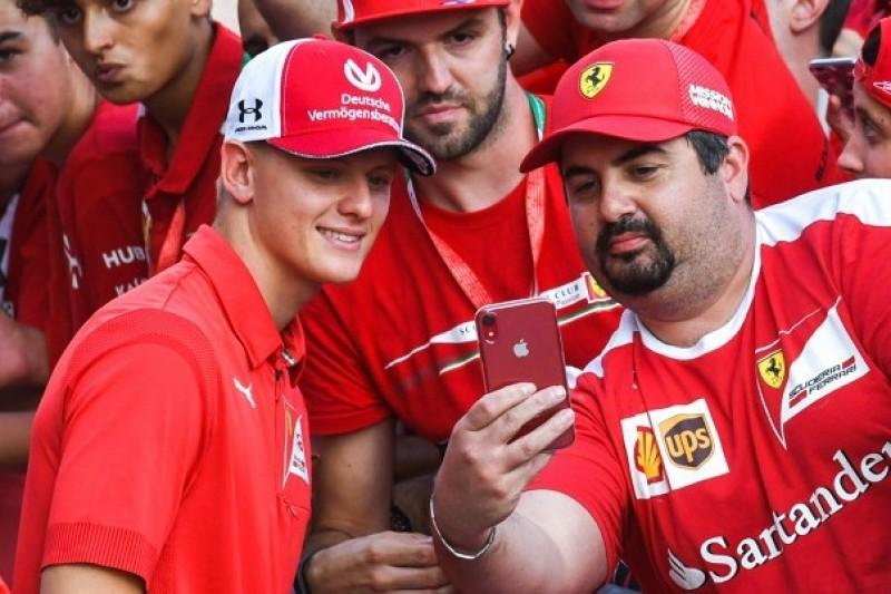 Mick Schumacher: Ferrari der Traum, Vater Michael das Vorbild