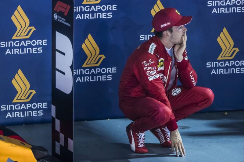 """Leclerc bereut mürrischen Singapur-Boxenfunk: """"Ich habe überreagiert"""""""