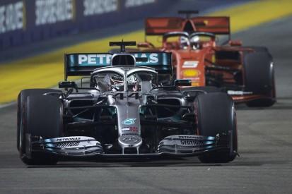 Lewis Hamilton: Wenn Ferrari einmal führt, dann ...