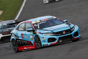 TCR Germany Sachsenring: Honda-Pilot Mike Halder zum Auftakt vorne