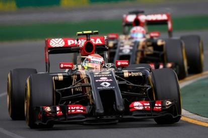 Grosjean verrät: Lotus glaubte 2014, man habe ein Weltmeisterauto