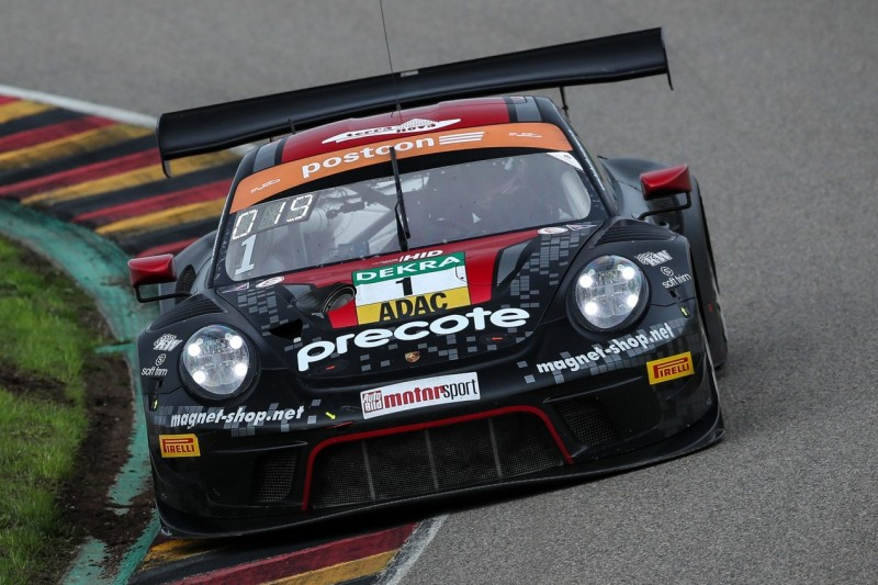 GT-Masters Sachsenring: Preining mit erster Bestzeit beim Finalwochenende