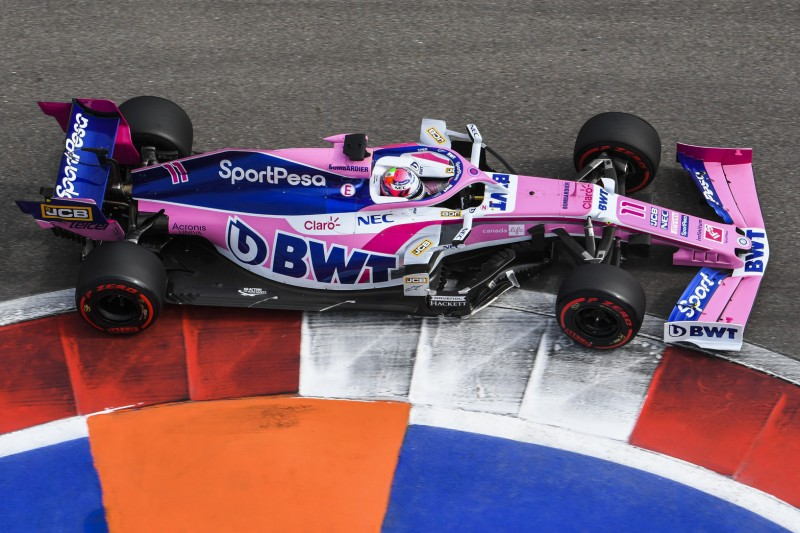 Sergio Perez: Nach Ausfall kein Motorwechsel erforderlich