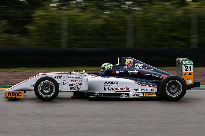 Formel 4 Sachsenring 2019: Doppel-Pole für Theo Pourchaire