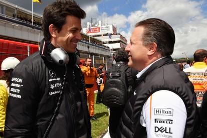 Offiziell: McLaren wird ab 2021 mit Mercedes-Motoren ausgestattet!