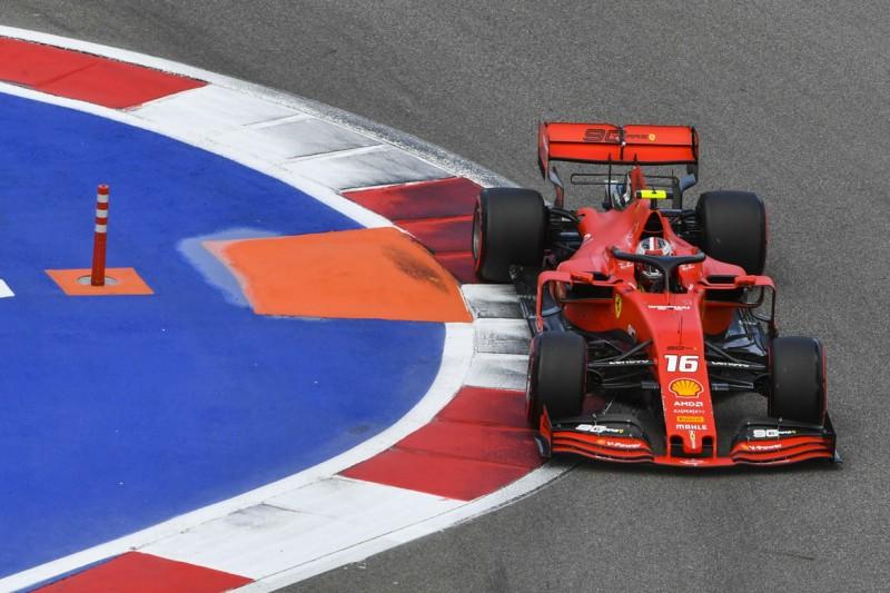 Formel 1 Sotschi 2019: Ferrari wieder doppelt vorn