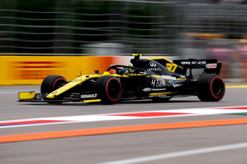 Renault-Stallduell: Hülkenberg in Sotschi klar schneller als Ricciardo