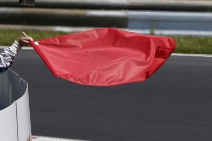 Formel 2 Sotschi 2019: Sprintrennen nach Startunfall unterbrochen
