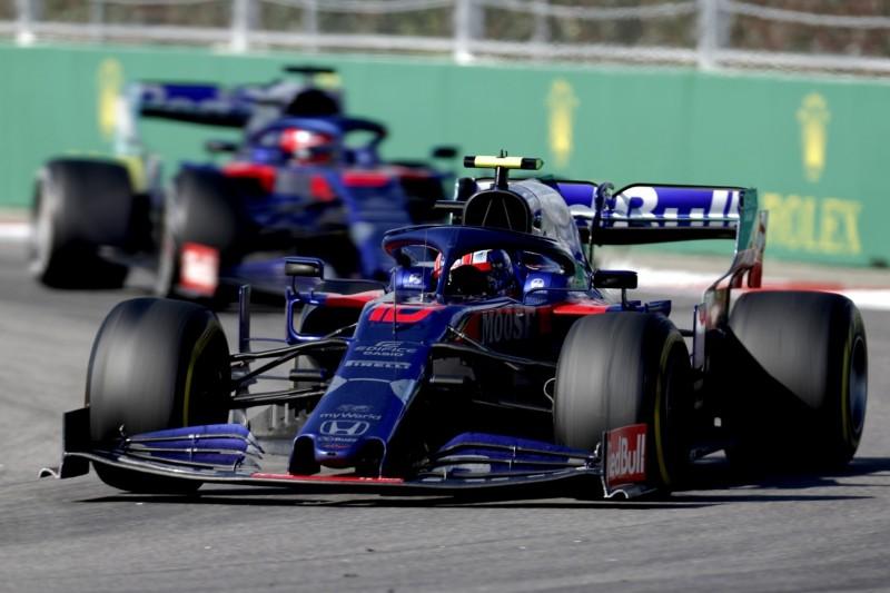 Fast-Crash, keine Pace, keine Punkte: Gebrauchtes Rennen für Toro Rosso