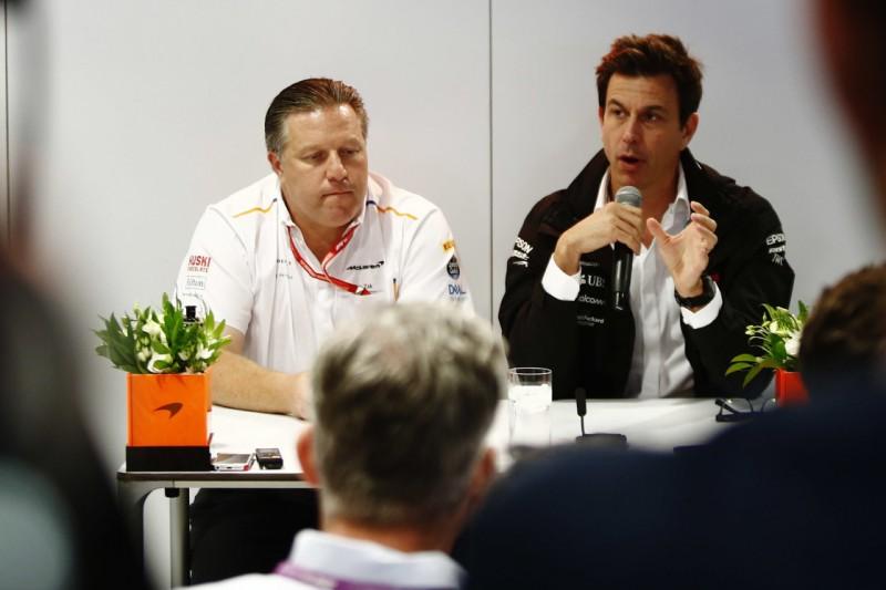 Toto Wolff: McLaren-Deal kein Indiz für Mercedes-Ausstieg