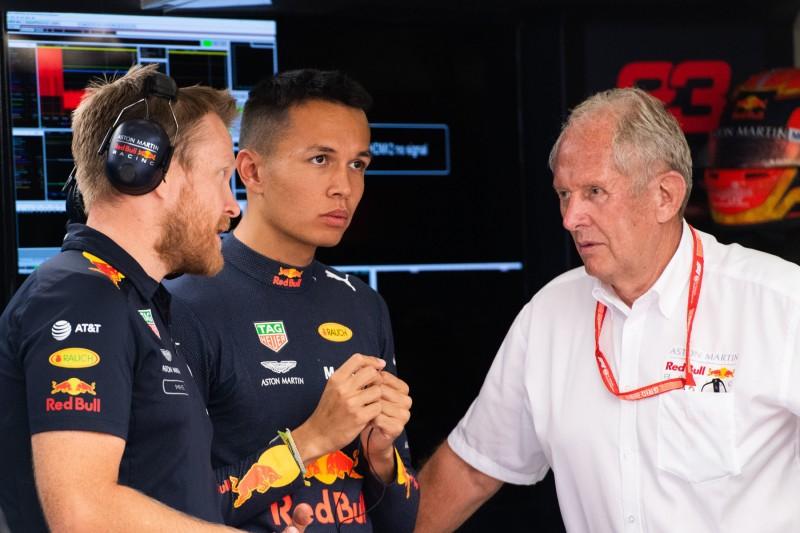 """Albon bei Marko in der Pole-Position? """"Bis jetzt waren alle Rennen gut"""""""