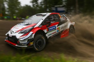 WRC Rallye Großbritannien 2019: Kris Meeke im Shakedown klar vorne