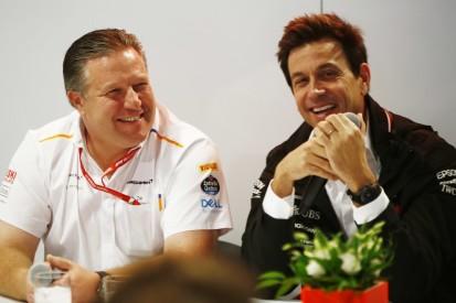 Ferrari-Motoren oder eigener Antrieb waren kein Thema für McLaren