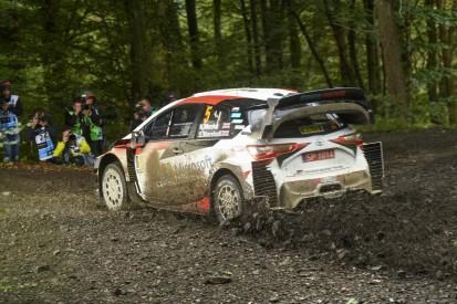 WRC Rallye Großbritannien 2019: Meeke hält Spitze vor Neuville