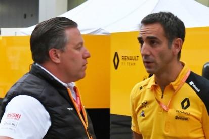 """McLaren-Mercedes: Renault trauert """"verpasster Möglichkeit"""" nach"""