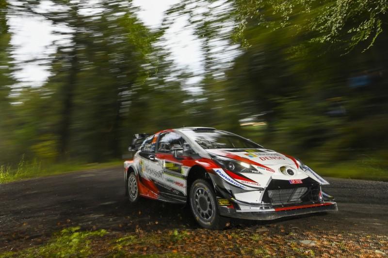 WRC Rallye Großbritannien 2019: Tänak übernimmt Führung, Ogier Zweiter