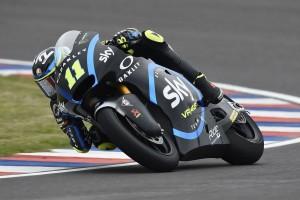 Moto2 Thailand 2019: Nicolo Bulega im FT3 vorn, Lukas Tulovic stürzt