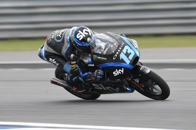Moto3 Thailand 2019: Celestino Vietti stürmt über das Q1 zur Pole-Position
