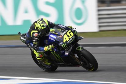 """Rossi nach Q2-Sturz: """"Start aus dritter Reihe immer schwierig"""""""