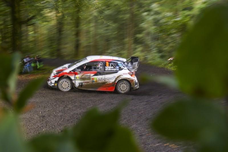 WRC Rallye Großbritannien 2019: Tänak bleibt vorn, Evans holt auf