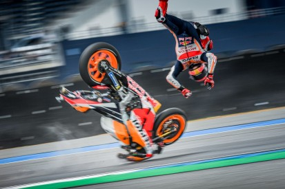 Datenanalyse: Der Highsider von Marc Marquez in Thailand