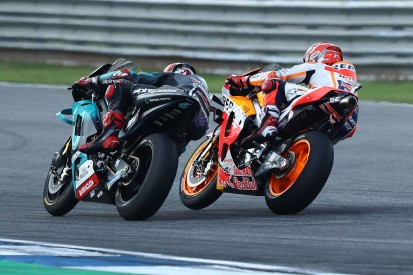 """""""Frustriert, aber glücklich"""": Quartararo unterliegt Marquez in letzter Kurve"""