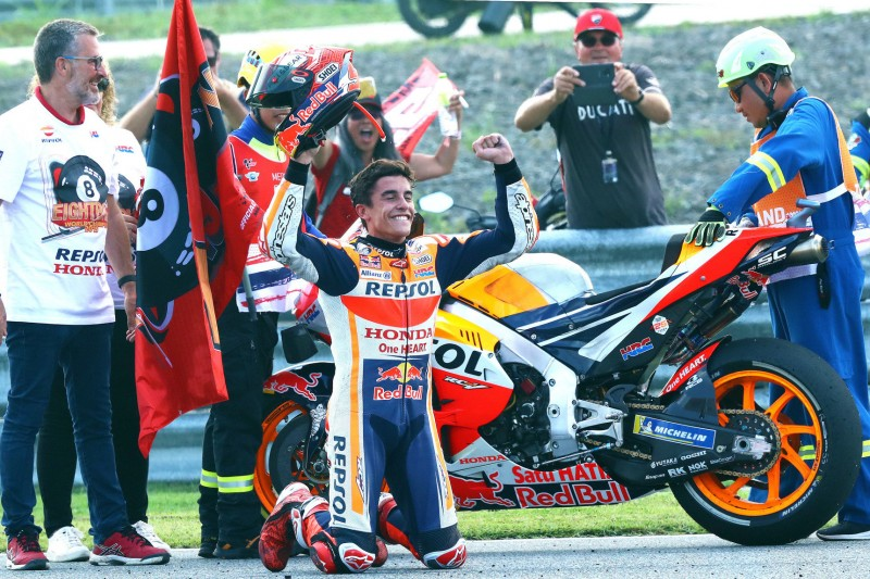 """""""Brauchte neue Motivation"""": Marquez' Weg zum vorzeitigen MotoGP-Titel 2019"""