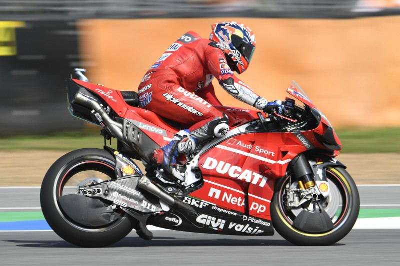 Ducati: Warum es Andea Dovizioso in Thailand nicht aufs Podium schaffte