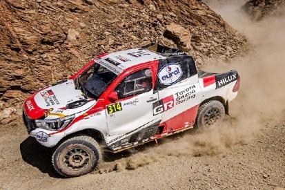 Rallye Marokko: Fernando Alonso bricht Etappe nach Unfall ab