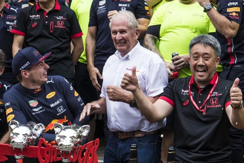 Helmut Marko zuversichtlich: Fünf Red-Bull-Siege 2019, WM-Titel 2020