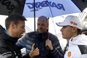 """""""Dreckigster Fahrer"""": So reagiert van der Linde auf Button"""