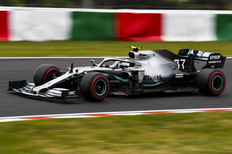 Neue Teile funktionieren: Provisorische Doppel-Pole für Mercedes