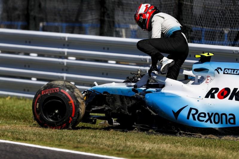Unfall am Ende der Outlap: Kubica braucht neues Chassis