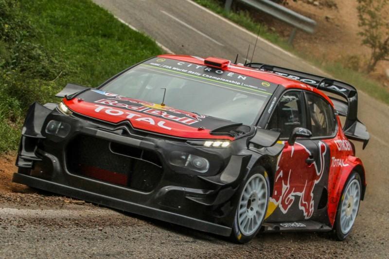 Update im WRC-Titelkampf: Citroen testet radikale Aerodynamik