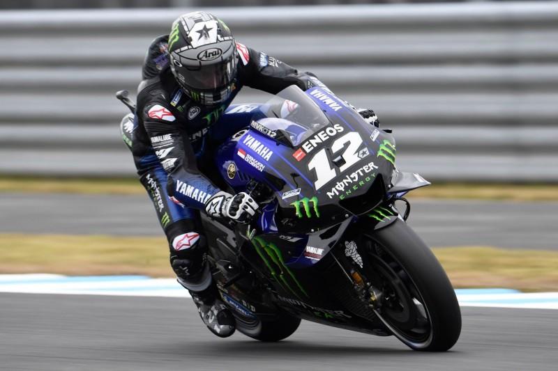 Yamaha schnell: Vinales freut sich über Grip, Quartararo gewohnt schnell