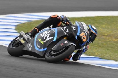 Moto2 in Japan 2019: Erste Saisonpole für Marini nach Missgeschick