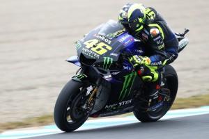 """Auf der Bremse """"nicht fantastisch"""": Rossi im Motegi-Qualifying langsamste Yamaha"""