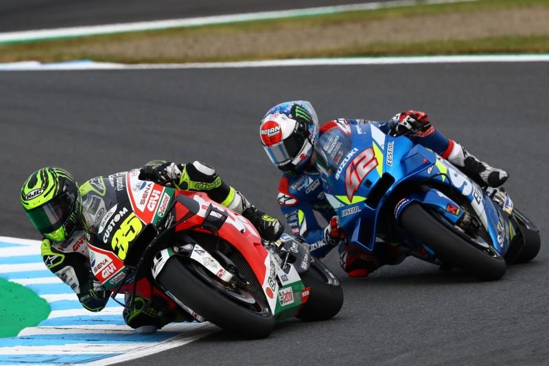 Top 5 beim Honda-Heimrennen: Cal Crutchlow bezwingt Rins und Morbidelli