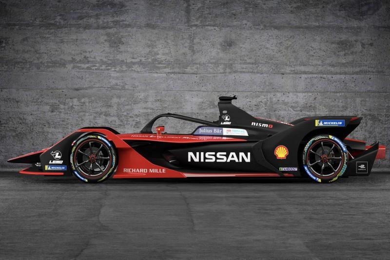 Nissan zeigt neue Lackierung für Formel-E-Saison 2019/20