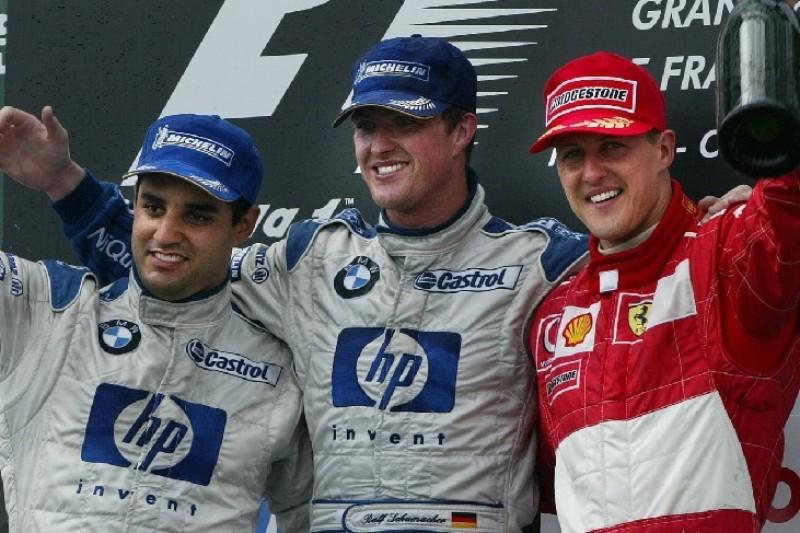 Ralf Schumacher: Hätte mit Williams den WM-Titel gewinnen können