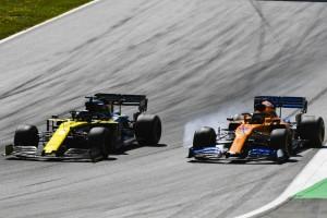 Renault-Ziel in Mexiko: Druck auf McLaren aufrechterhalten