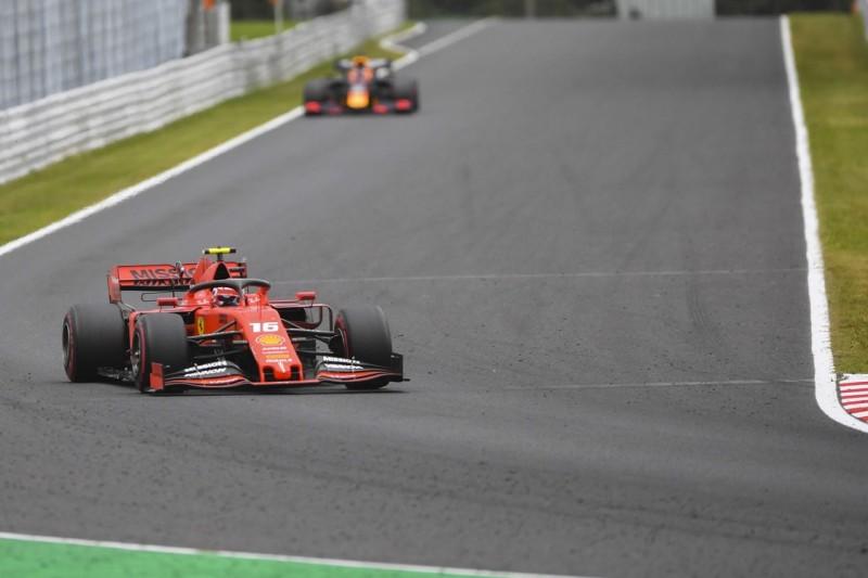 Einhändig durch die 130R: Leclerc antwortet Kritikern