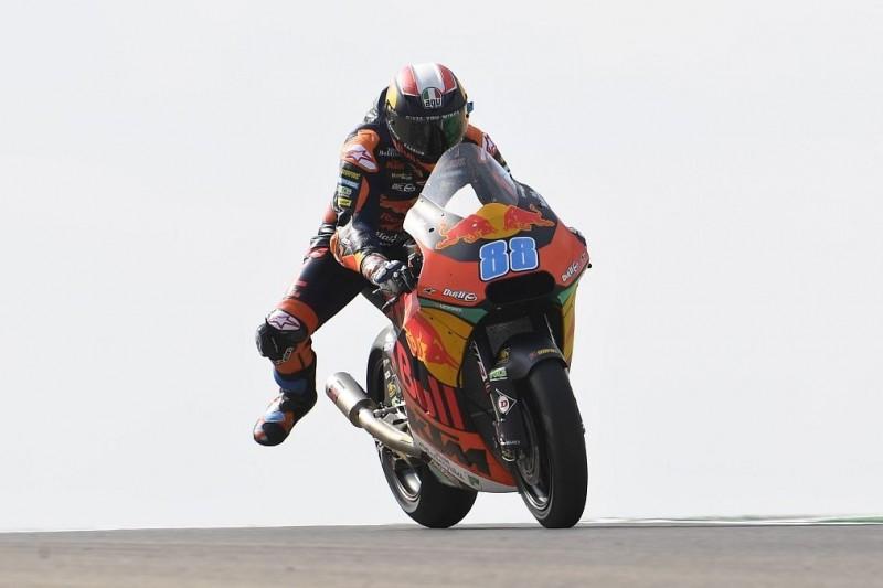 Moto2 Australien 2019: Martin auch im Trockenen vorn, Schrötter nur P22
