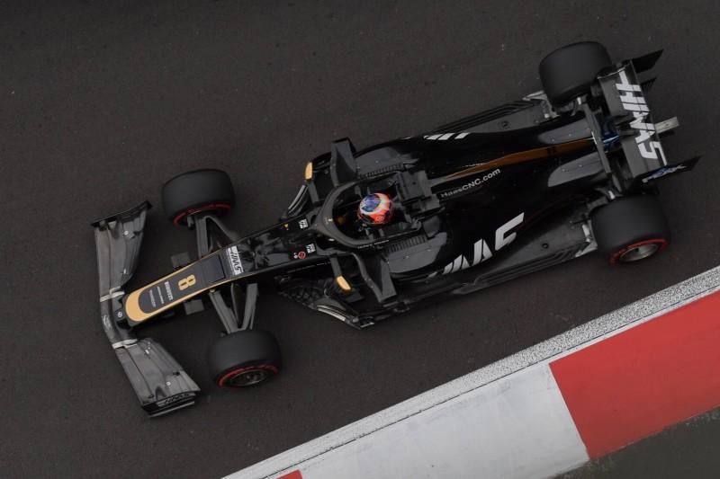 Haas: Grosjean rechnet mit Startplatz 26 und 27
