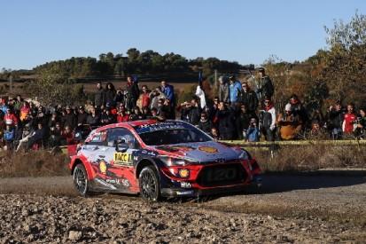 WRC Rallye Spanien 2019: Thierry Neuville übernimmt die Spitze