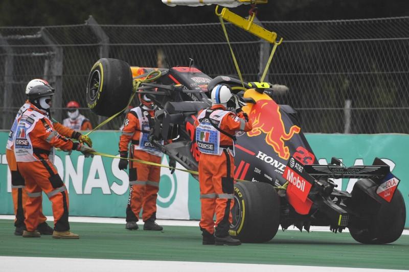 Albon im Ersatzchassis: Red Bull mit Engpass bei Ersatzteilen